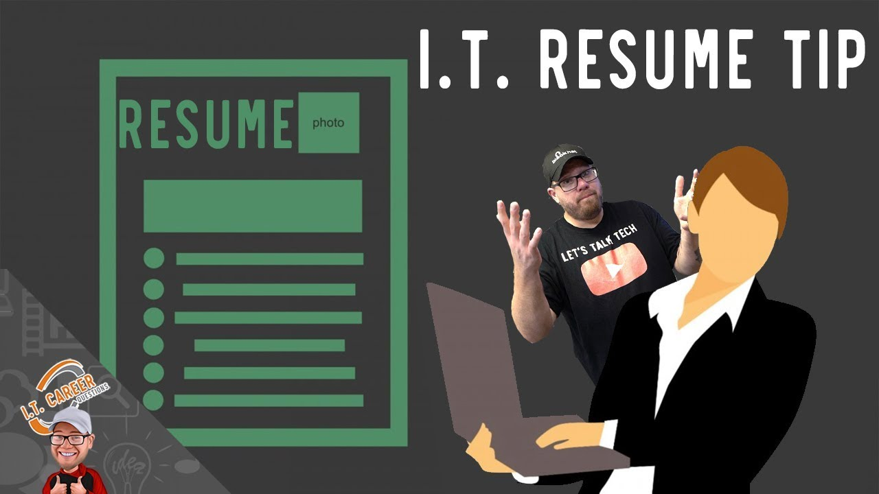 It Resume Tip Listing Skills With No Experience Degree Or