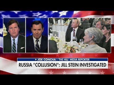 Tucker on Russia Witch Hunt Now Involving Jill Stein