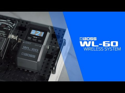 The Boss WL-60 wireless system lets you cut the cable and roam the stage | MusicRadar