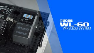 BOSS WL-60 Guitar Wireless System: Introduction by Andy James