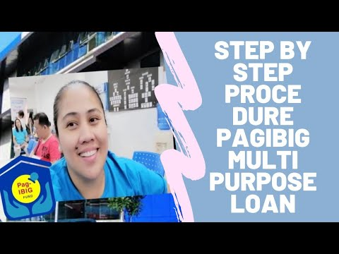 VLOG 4:How To Apply Multi Purpose Loan In PAGIBIG (first Timer)