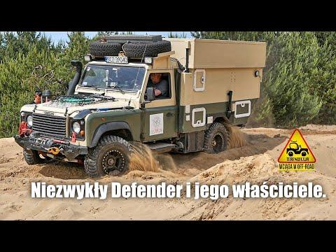 Niezwykły Defender I Jego Właściciele.