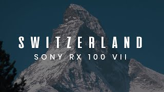 Switzerland | Sony RX100 VI Cinematic Travel Video. Snowboarding in Swiss Alps, Zermatt, Matterhorn.