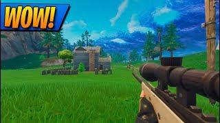 FORTNITE en PRIMERA PERSONA! TODAS las ARMAS! Fortnite: Battle Royale