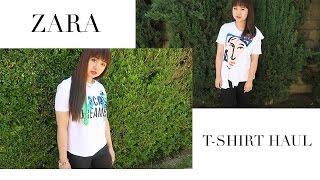Zara T-Shirt Haul | Zara T恤穿搭分享 | CS BEAUTYCASTER