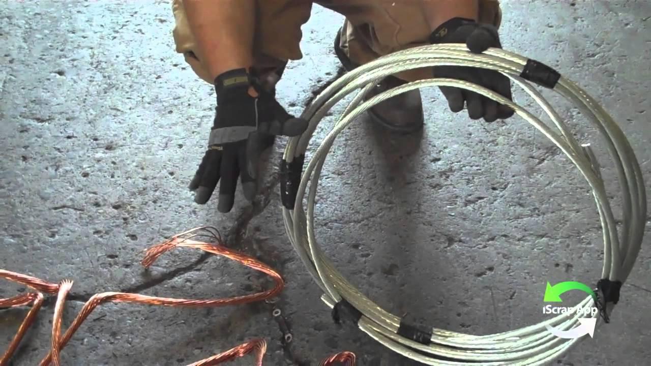 Tin Coat vs. Bare Bright Copper Wire - YouTube