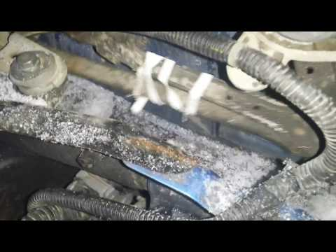 Nissan Note Ремонт трапеции в дороге