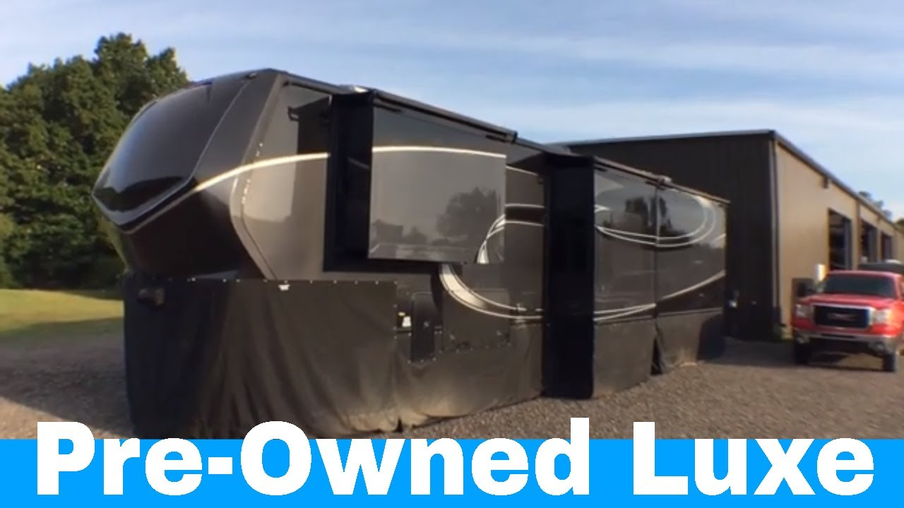 Pre Owned 2018 Luxe 42md Luxury Fifth Wheel Call For Price