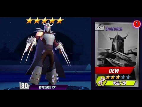 Ninja Turtles Legends Shredder First Look