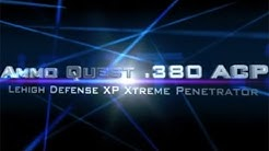 Ammo Quest .380 ACP: Lehigh XP Xtreme Penetrator test in ballistic gel