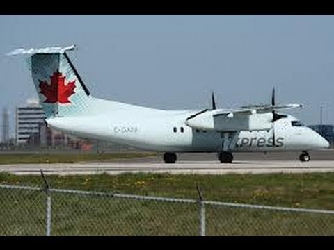 Air Canada Express DHC-100 Ottawa to Montreal (Full Flight)