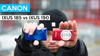 Canon IXUS 185 vs Canon IXUS 190 vs iPhone | Digitalkamera für Kinder und unterwegs