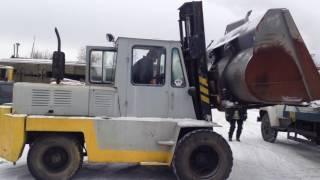 -Продаём Львовский погрузчик 5 тонн дизельный