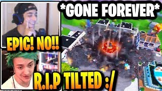🔴 TILTED TOWERS GETS DESTROYED!!! 😱 🔴 New Fortnite Event Aftermath 😱