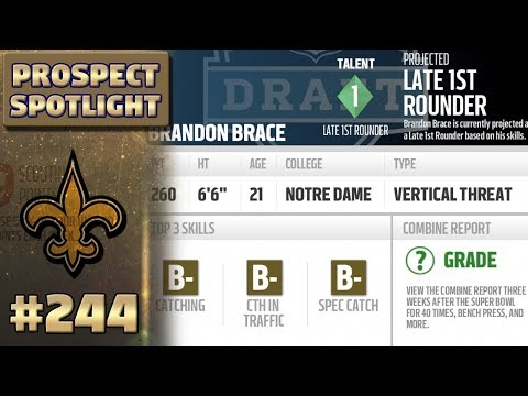 Season 6 Draft Class!!! | | Madden NFL 17 New Orleans Saints Franchise Ep. 244