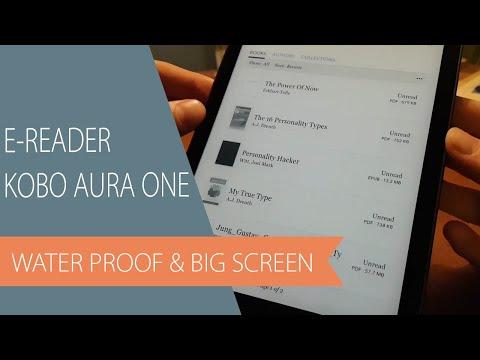 Kobo Aura One EReader - Unboxing, Setup & Transfer EPub And PDF Books