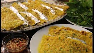 How to Make Banh Chev របៀបធ្វើបាញ់ឆែវ-Cambodian food/Asian food