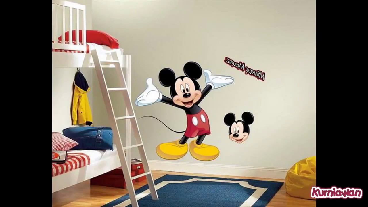 Mickey Mouse Wall Stickers Kids Rooms