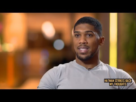 "ANTHONY JOSHUA: ""I WAS DISAPPOINTED THAT KLITSCHKO RETIRED""!!!"