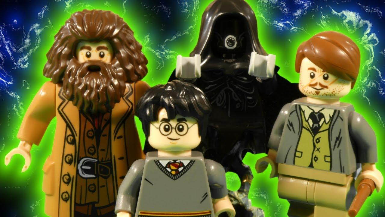 LEGO HARRY POTTER - HAGRID'S DEMENTOR PROBLEM - WIZARDING WORLD STOP MOTION
