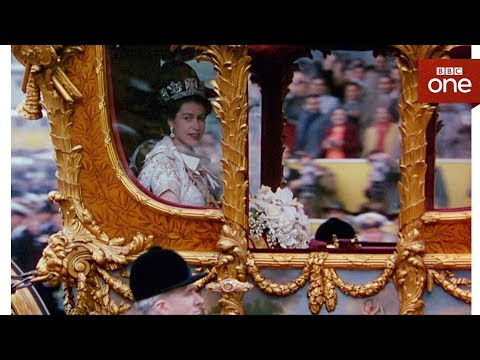 How comfortable is the queen's carriage? - The Coronation - BBC One