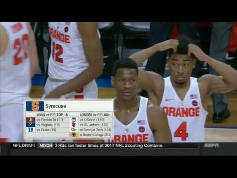 Miami Hurricanes vs Syracuse Orange Full Game 08 03 2017