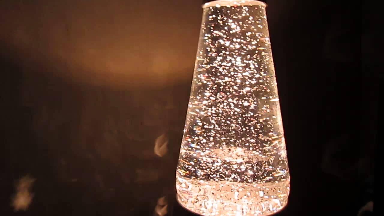 Lava Lite Glitter Starlight Lava Lamp Clear Silver 30W Ebay