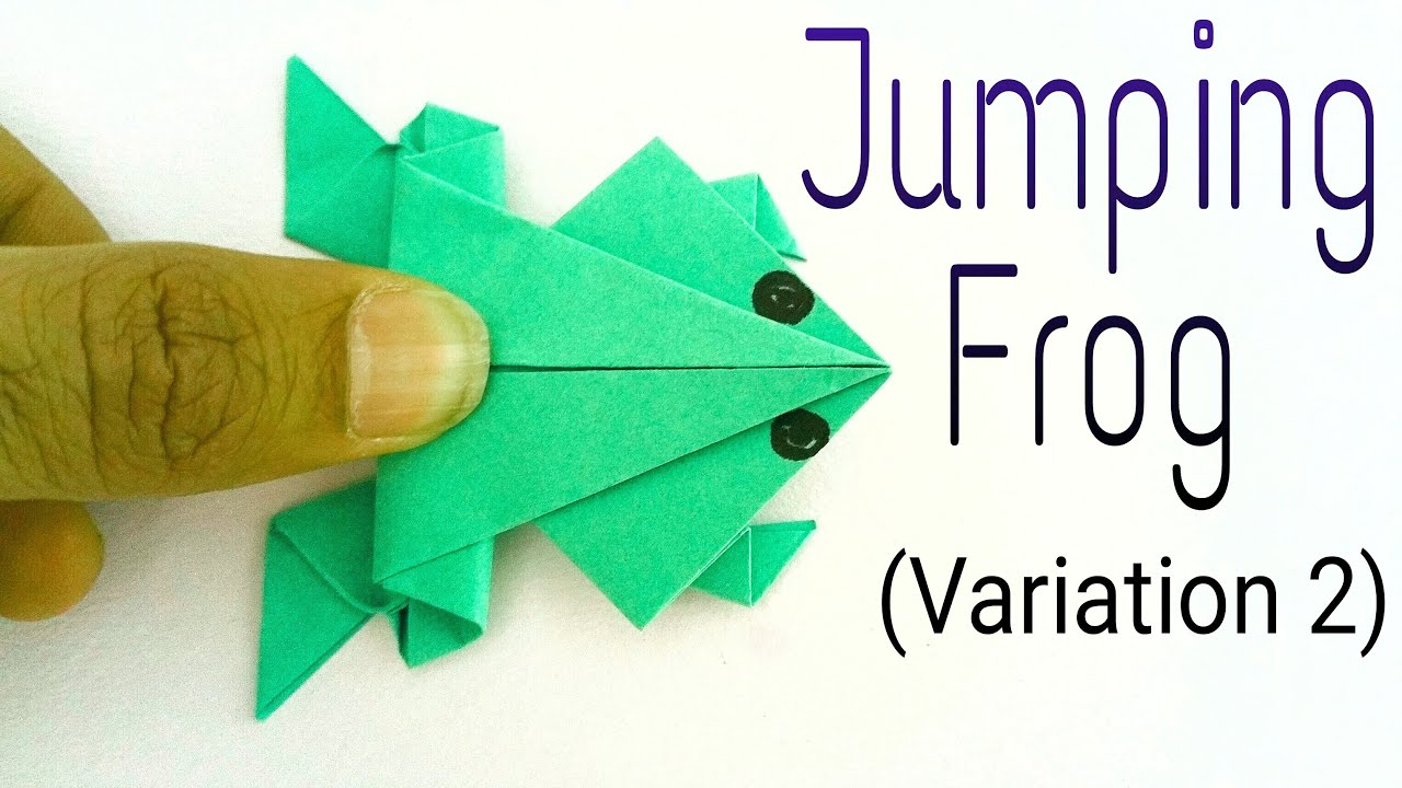 traditional jumping frog ���quot variation 2 action fun