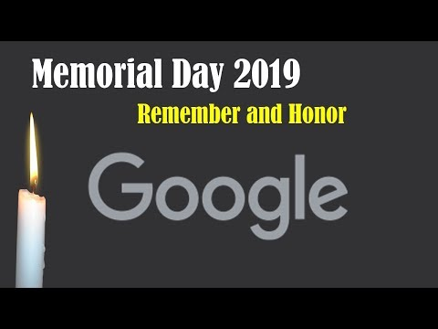 Memorial Day's National Moment of Remembrance 2019 #MemorialDay