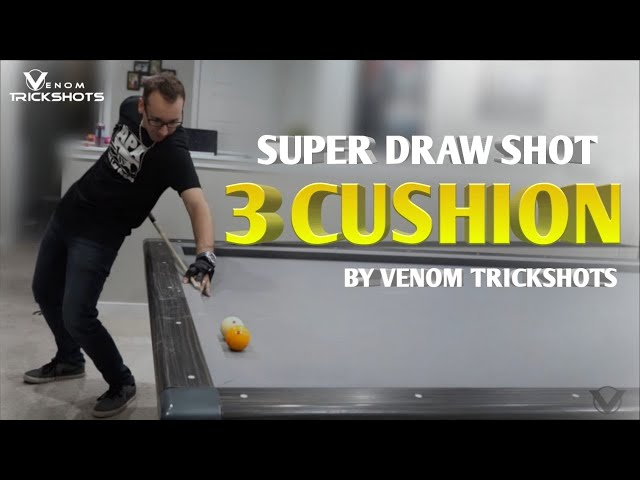Super Draw Shot - 3-Cushion by Venom Trickshots!