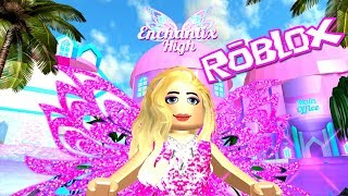Roblox: Fairies & Mermaids Winx High School Beta ~ Light Fairy ~ Can I Win Prom Queen?