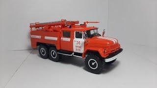 АЦ-40(131) Легендарные грузовики СССР Modimio collections. Масштабная модель автомобиля 1:43.