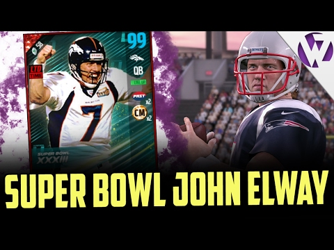 EA HAS BROKEN MY GAME!!! - SUPER BOWL JOHN ELWAY!!! - MADDEN 17 SUPER BOWL JOHN ELWAY GAMEPLAY