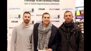 Ignacio Sanchez Garcia, vainqueur du Challenge Pyrénées-Presse 10 km