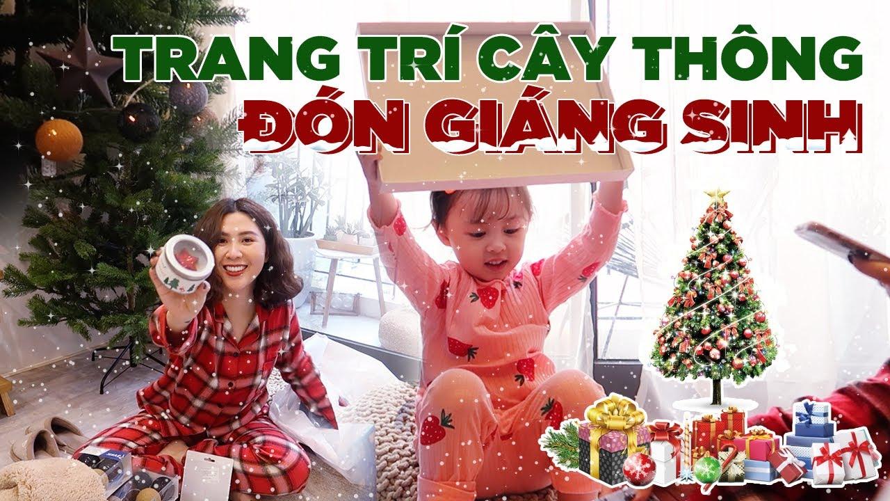 VlogMas#01 | Đầu tư cây thông mới , Trang Trí Đón Giáng Sinh cùng nhà Cam Vlog 158