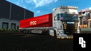 Euro Truck Simulator 2 #2 | Luxemburgo - Londres | Scania R