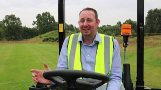 Jimmy the mower visits Ransomes
