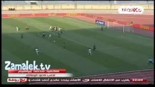 ملخص مباراة الزمالك و وادي دجله 2-2 الدوري المصري
