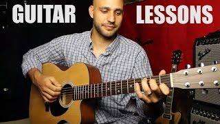 Can't Help Falling in Love - Finger Picking - Beginner Guitar Lesson - Elvis Presley - Lesson 6