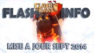 Clash Of Clans | GENIALE La Nouvelle MAJ ! Septembre 2014 | Attaque Molosse