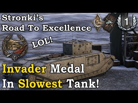 Road To Excellence: TOG II*: Invader Medal In Slowest Tank!