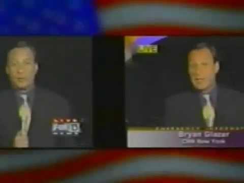 Bryan Glazer World Satellite Television News - September 11, 2001 Live Cable News Network Coverage