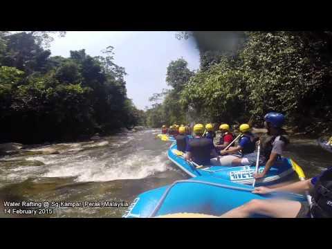 White Water Rafting @ Sungai Kampar, Perak, Malaysia 14 February 2015