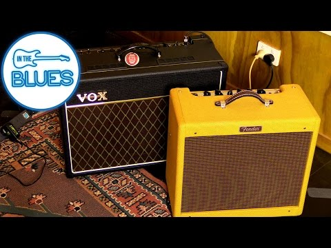 VOX AC-15 vs Fender Blues Junior III