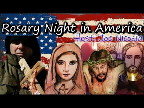 🙏🙏 Rosary Night in America with Joe Nicosia - Outdoor Rosary