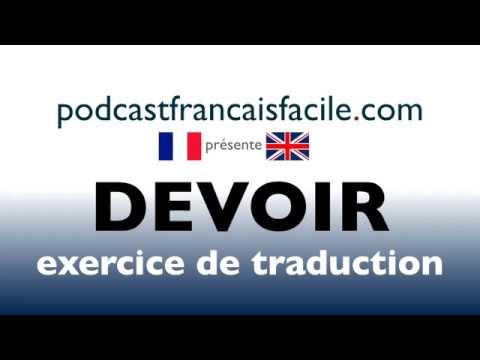 traduction anglais francais