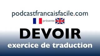 traduction anglais francais