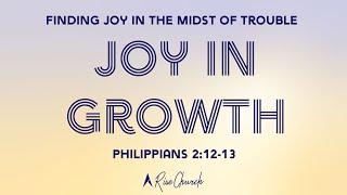 Joy in Growth