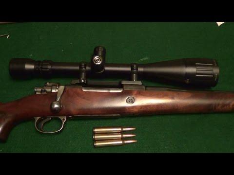 Custom Mauser in  Win Mag