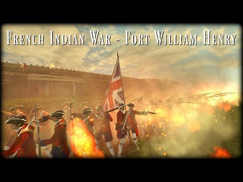 French Indian War - Fort William Henry